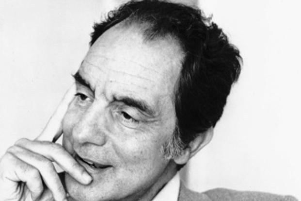A file photo of writer Italo Calvino. Photo: Wikimedia Commons