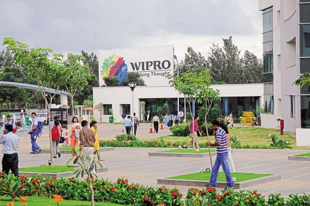 Wipro has guided for between 1% and 3% growth for the June quarter, even though the full contribution of the HealthPlan Services acquisition will add about two percentage points to growth. Photo: Hemant Mishra/Mint