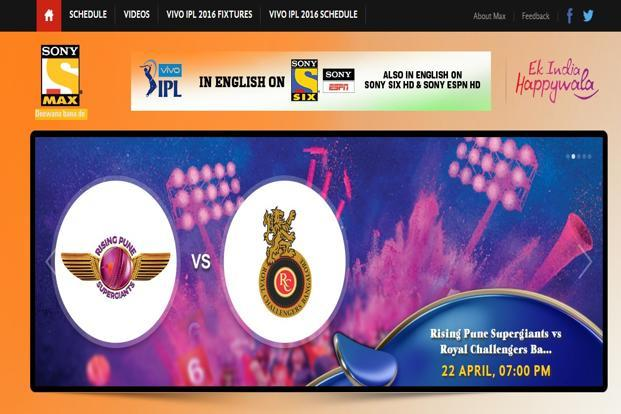 IPL makes Sony Max second-most watched TV channel