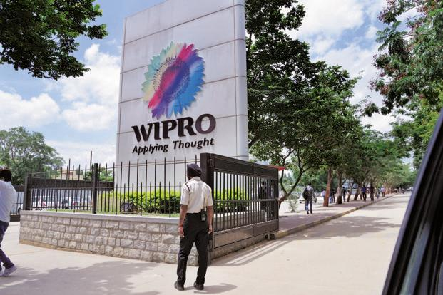 Intraday, the stock touched a low of `556.55 apiece, a level last seen on 11 April, falling as much as 7.45%, the most since 25 July 2014. So far this year, the Wipro stock fell 0.11%. Photo: Hemant Mishra/Mint (Hemant Mishra/Mint)