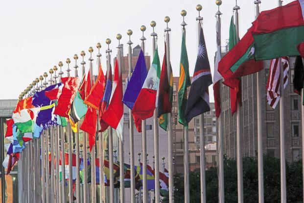 The ceremony at UN headquarters is expected to set a record for the largest number of nations to sign an agreement on the 1st day possible, drawing officials from the US, China, India and other states that brokered the deal in December. Photo: AFP  (AFP)