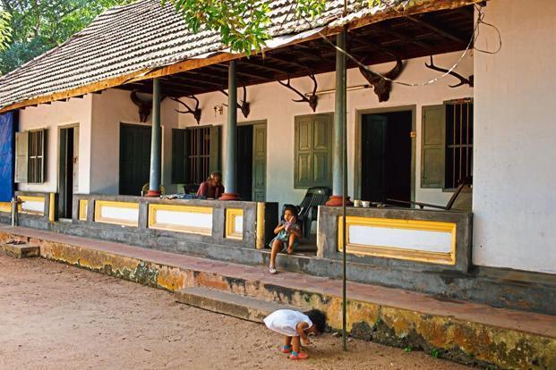 The Front Veranda Of Pullickal House. Photographs By Kaushik Ramaswamy