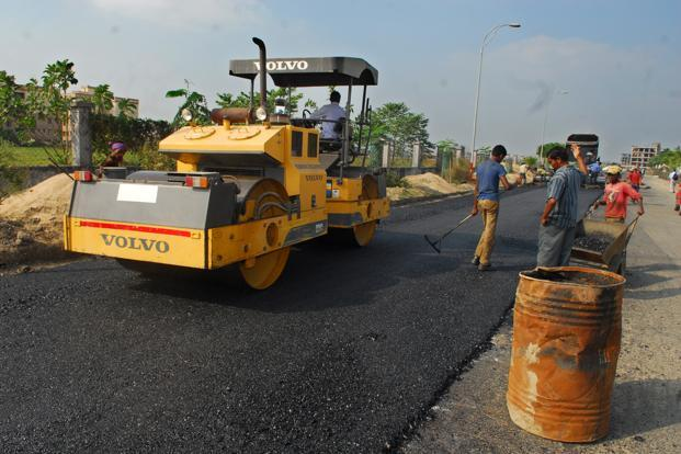 Image result for road construction in mumbai
