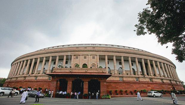 The Upper House of Parliament has seen disruptions on several contentious political matters.   Photo: PTI