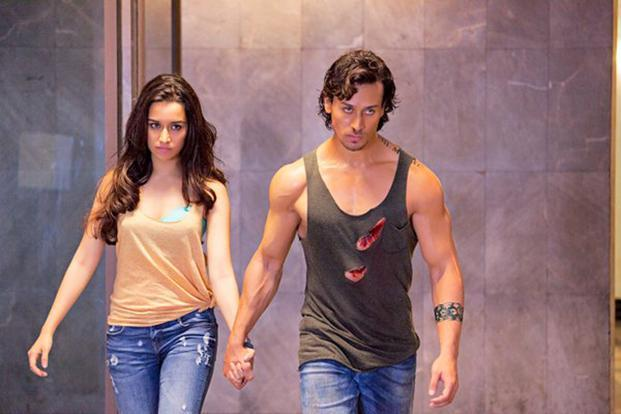Tiger Shroff is stiff and rigid, while Shraddha Kapoor is more a prop in 'Baaghi'.