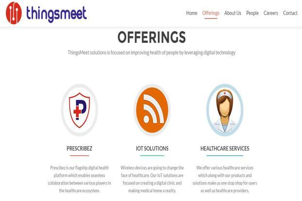 The app, which is owned by ThingsMeet Solutions, will be launched in Pune later this month, will connect consumers with doctors, labs and pharmacies.
