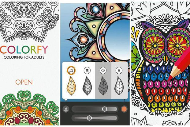 Fun colouring apps for smartphones and tablets