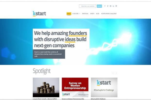 Kstart invests $500,000 each in three start-ups - Livemint