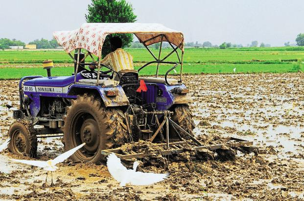India has not taxed agriculture since the country got independence from British rule in 1947, and taxing farmers heavily was always seen as the trademark of colonial oppression. Photo: Ramesh Pathania/Mint