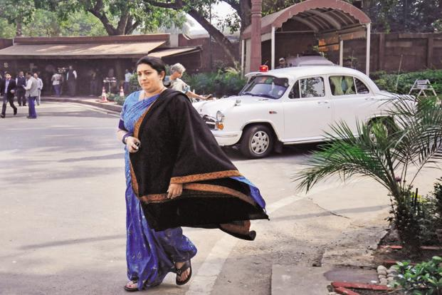 "HRD minister Smriti Irani said the UGC on its part has started a portal ""KnowYourCollege"" and a mobileApp providing details about universities and colleges so that gullible students are not duped by such fake institutions. Photo: Hindustan Times"
