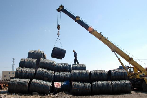 Since financial derivatives appear to be the main reason behind rising metal prices, China's tightening could cause a sharp decline instead of a soft landing. Photo: AP