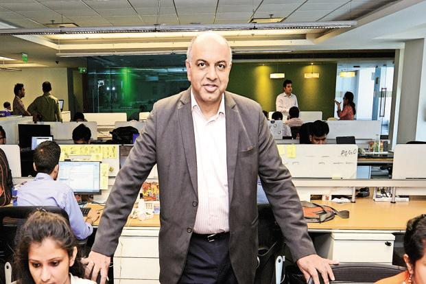 Info Edge's Sanjeev Bikhchandani. Photo: Ramesh Pathania/Mint