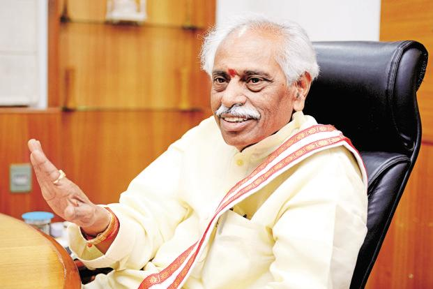 Labour minister Bandaru Dattatreya says EPFO noticed that Kingfisher had under-reported compliance in respect of 14 international workers and there were belated remittances of PF contribution. Photo: Priyanka Parashar/Mint