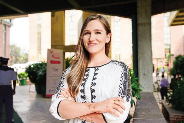 Hannah Norling, head of marketing and communications, My Choices Foundation. Photo: Ramesh Pathania/Mint