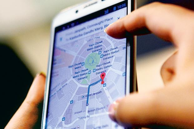 We've come to rely on our phones for turn-by-turn navigation and live traffic updates and services such as Uber and Swiggy that tap into the navigation ecosystem, offer a variety of value-added services that are an integral part of our lives. Photo: Ramesh Pathania/Mint