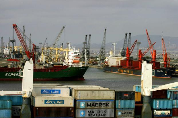 About 90% of India's trade by volume and 70% by value are moved through ports. Photo: Bloomberg