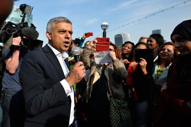 It was not a surprise at all when Londoners queued up in record numbers—a 45.6% turnout—to vote Labour Party lawmaker Sadiq Khan as their mayor, making Khan the highest ranking Muslim politician in Europe. Photo: Reuters