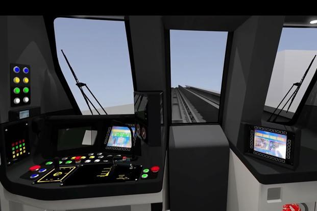 The drivers will also be able to monitor CCTV images of activity inside the trains.