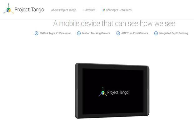 Google I/O: Project Tango for indoor mapping, Virtual Reality