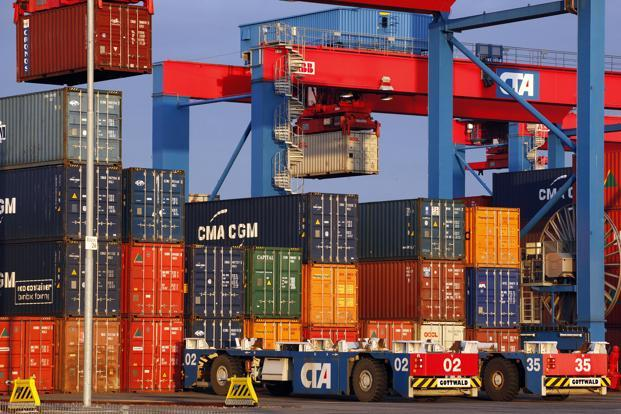 Oversupply of ships and subdued global trade has been a plague for the shipping industry. Container shipping indices too have suffered. Photo: Bloomberg