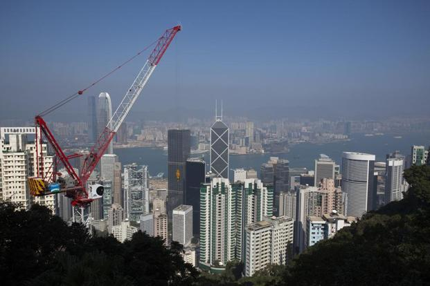 Hong Kong's economy unexpectedly contracts in first quarter - Livemint