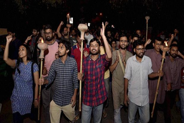 "The court gave the students the liberty to move ""peaceful representations"" before the authorities concerned and asked JNU to be ""reasonable"" and to be ""alive to the situation"". Photo: PTI"