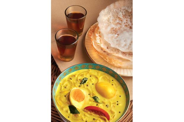 Egg curry.