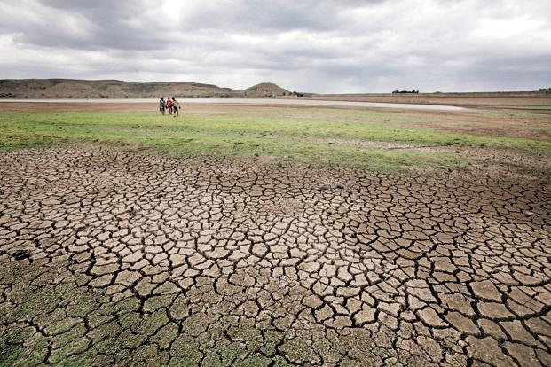 Large parts of India are in the grip of a drought after two successive years of below-average monsoon rainfall. Photo: Hindustan Times