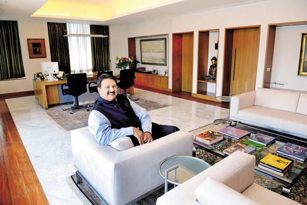 A file photo of Piramal Enterprises chairman Ajay Piramal. The company has reported a consolidated net profit of Rs180 crore in the March quarter compared with Rs95.4 crore a year ago. Photo: Mint