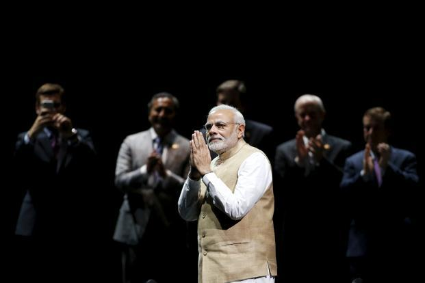 Narendra Modi's own very obvious and very evident work ethic is among the things to like. Photo: Reuters