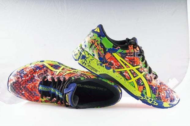 The Asics Gel Noosa Tri 11. Photographs by Indranil Bhoumik/Mint