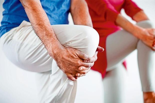 Squats can help to strengthen the knees and slow down the progression of  knee arthritis.