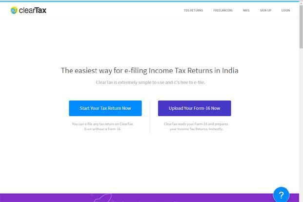 ClearTax, run by Defmacro Software Pvt. Ltd, had in April raised $1.3 million in angel funding from Silicon Valley-based angel investors, including PayPal co-founder Max Levchin, Whatsapp's business head Neeraj Arora, and AngelList founder Naval Ravikant, among others.
