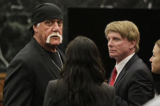 It's reasonable to assume Thiel enjoyed a bit of schadenfreude when Terry Bollea (Hulk Hogan) sued Gawker over the release of a sex tape depicting the wrestler with a friend's wife. Photo: AP
