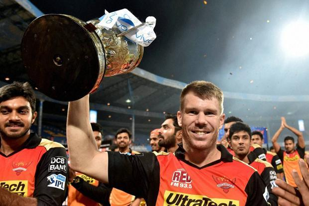 Warner led SRH to IPL 2016 title. (Mint)