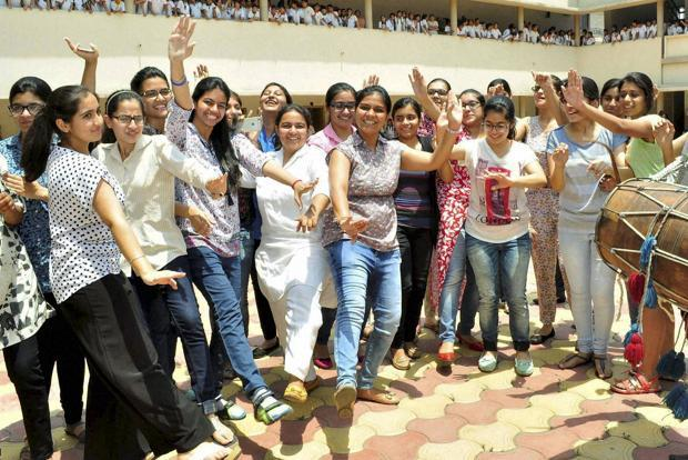 With a pass percentage of 96.36%, girls outperformed boys. Photo: PTI