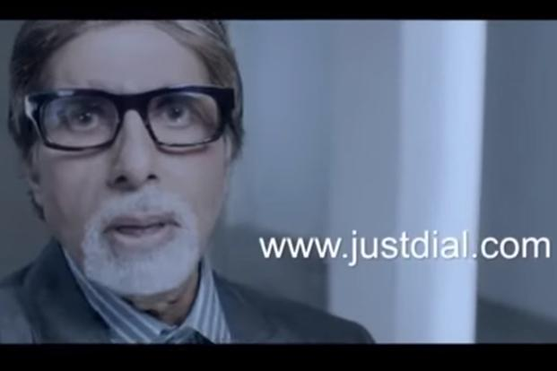 Amitabh Bachchan has been appearing in Just Dial's campaigns since 2010. Bachchan invested Rs6.27 lakh in the company in 2011.