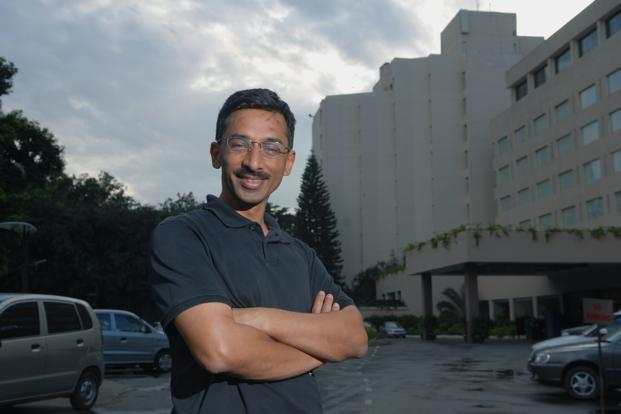 Ashish Gupta, founder of Helion Venture Partners. Photo: Hemant Mishra/Mint