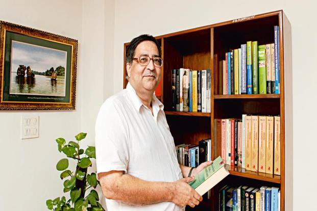 A file photo of T.C.A. Anant, chief statistician of India, who said imperfect information is still useful as long as one knows what the sources of the imperfection are. Photo: Ramesh Pathania/Mint