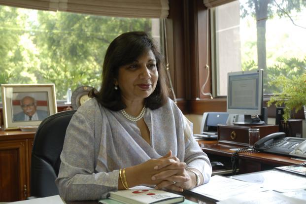 A file photo of Kiran Mazumdar-Shaw, founder of Biocon. Photo: Hemant Mishra/Mint