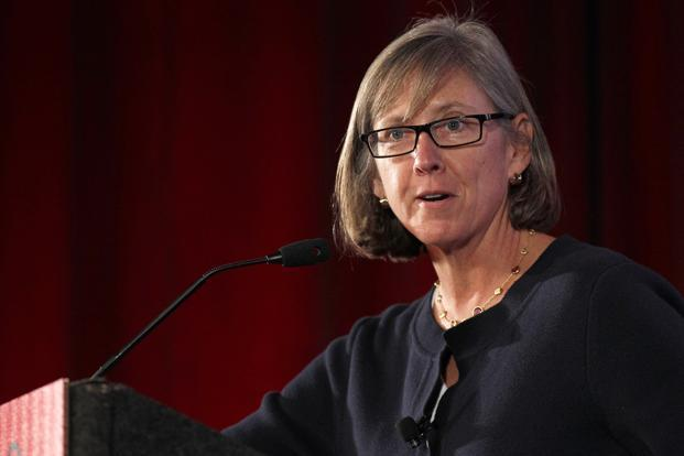 Mary Meeker, a former Morgan Stanley internet analyst who is now partner at venture-capital fund Kleiner Perkins Caufield Byers is a legendary figure from the early days of the first dotcom boom in the US. Photo: Bloomberg