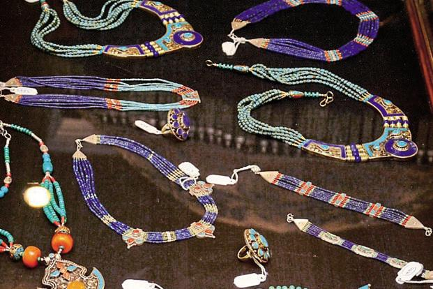 The Aayenda line has earrings, bracelets, pendants and necklaces.