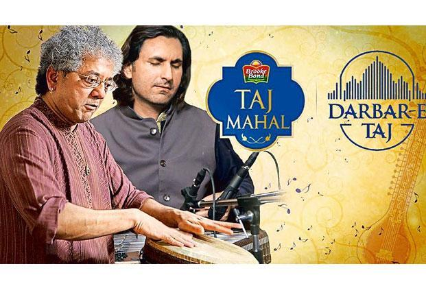 One of the videos on YouTube's Darbar-E-Taj channel features Taufiq Qureshi and Rahul Sharma.