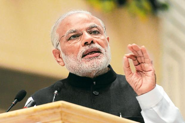 Prime Minister Narendra Modi  said eastern India is lagging behind western India and specifically mentioned eastern Uttar Pradesh, Bihar, Assam, Odisha and West Bengal. Photo: Sonu Mehta/Hindustan Times
