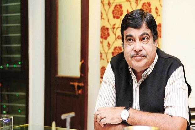 A file photo of transport minister Nitin Gadkari who formed the Group of Ministers in April to find solutions to the various problems plaguing the road transport sector. Photo: Ramesh Pathania/Mint