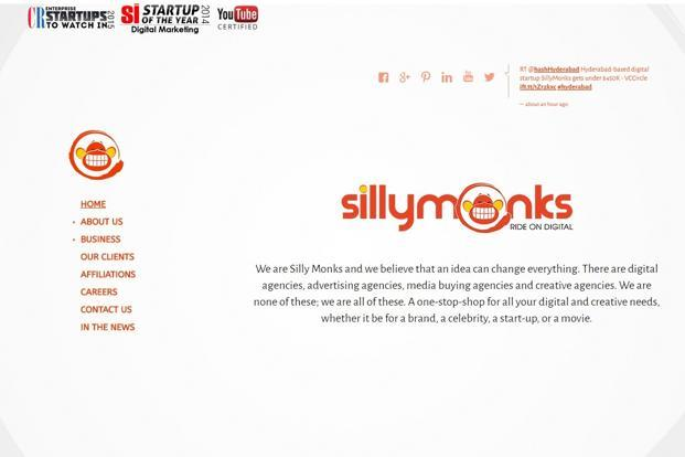 SillyMonks is a multi-channel network delivering 100 million views a month through 650 channels on video-sharing website, YouTube.
