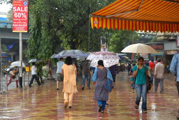 The weather office forecast rain at a few places in South Tamil Nadu and over one or two places in the northern parts of the state for the next 48 hours. Photo: Mint