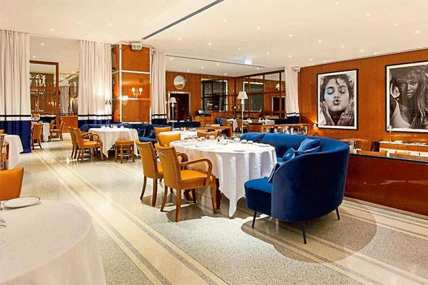 The interiors of Dubai's newly opened restaurant, Cipriani.
