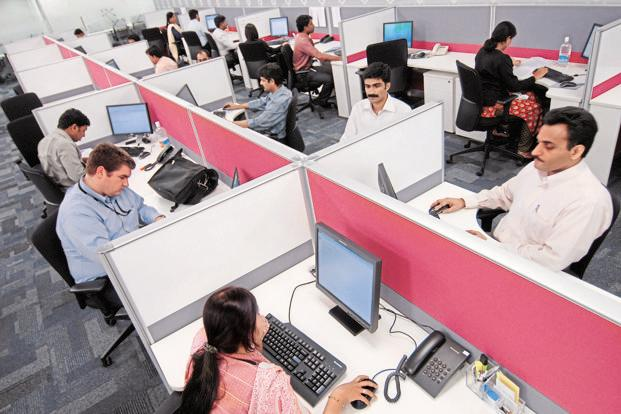 The moot question for investors in information technology, or IT, services companies is whether the entire sector's performance will be choppy this year. Photo: Hemant Mishra/Mint