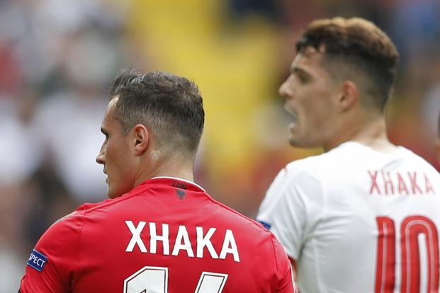Xhaka Brothers Make History By Facing Each Other At Euro